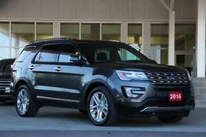 2016 Ford Explorer Limited 4WD 7 Pass Luxury SUV Certified Pre-O