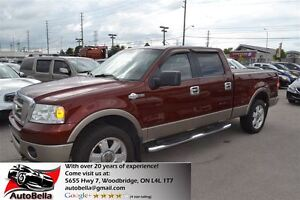 2006 Ford F-150 KING RANCH 4X4 Leather No Accident