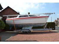 Sailing Yacht Leisure 23SL 1980