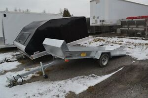 2017 Advantage 4X12 OPEN SLED TRAILER