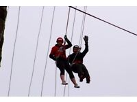 165ft Abseil From The Forth Rail Bridge - June