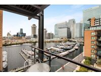 REDUCED & VACANT - walking to Canary Wharf - Large 2bed 2bath apartment with dock & CW views! E14 JS
