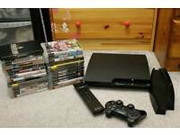 Sony PlayStation 3 Slim 320GB + 27 Games