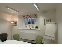 Office room to let for £495 per month inc VAT, rates, services and a car parking space