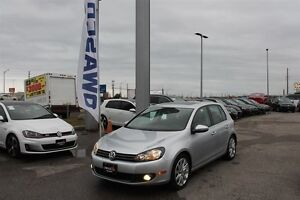 2012 Volkswagen Golf 2.5L Highline 5DR w/ Sunroof & Heated Seats