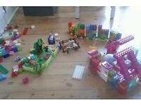 Lego Duplo and Hello Kitty