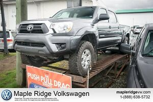 2015 Toyota Tacoma V6 Deep Metallic Grey