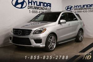 2015 Mercedes-Benz M-Class ML63 AMG 4MATIC + MAGS 21 + TOIT PANO