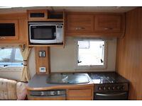 2007 Fleetwood Vanlander 4 Berth Fixed Twin Single Beds Caravan