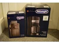 Delonghi coffee machine and grinder
