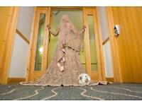 Stunning Walima Asian Wedding Dress 2017 Like New