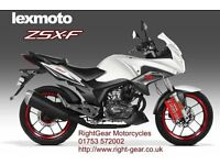 *Brand New* 66 Plate Lexmoto ZSX-F 125. Warranty. Free Delivery. Main Dealer. Learner Legal 24-10
