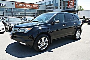 2009 Acura MDX AWD - LEATHER - SUNROOF - ONE OWNER! CERTIFIED!