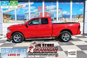 2012 Ram 1500 Sport 4x4 Quad Cab 140 in. WB, NO-ACCIDENTS! MINT!