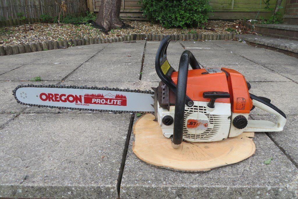 Stihl 034 chainsaw, 56 5cc, ported, 175psi compression, new 20