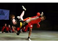 Get fit and defend your self learning WUSHU KUNG FU
