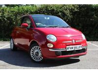 FIAT 500 1.2 Lounge 3dr **CAM BELT AND WATER PUMP DONE** (red) 2008