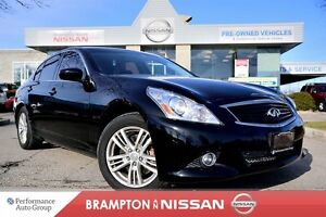 2013 Infiniti G37X Luxury *Leather, Heated seats, Rear view came