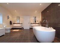 Modern Freestanding Bath and Tap