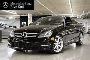 2012 Mercedes-Benz C350 4MATIC, coupé, GPS, Toit pano