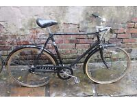 Raleigh Chiltern steel frame, 3 speed, bicycle - spare or repair - fixie conversion?