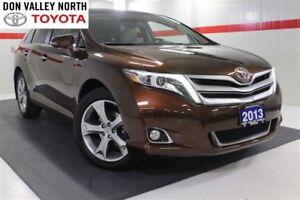 2013 Toyota Venza V6 AWD TOURING PKG Sunroof Nav Heated Lther Bt