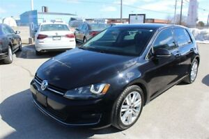 2015 Volkswagen Golf NAVIGATION, LEATHER, FENDER AUDIO