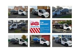 Recovery service from £30. Fast cheap service.