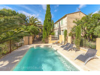 South France mediterranean house rental within 4 km of sandy beaches