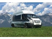 Unique Campervan 2011 Ford Transit 115 T350L RWD, LWB, High Top. Fiamma bicycle rack. Motorbike rack