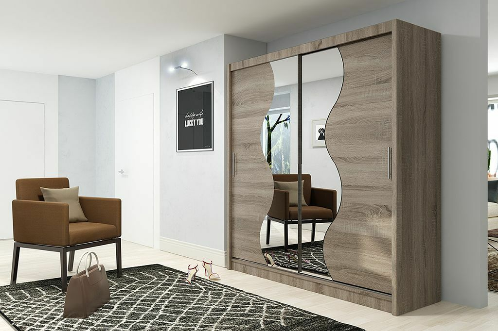 Brand new German design Power 18 Big two door Slider wardrobe with