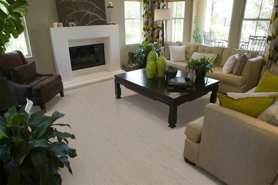 Warm Your Cold Basement Celsius With Cork Floating Flooring - Cost effective basement flooring