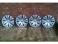 "Citroen Berlingo 15"" Wheel Trims X 4"
