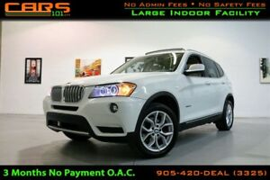 2014 BMW X3 xDrive28i | 360 Camera | Cold Weather Pkg|
