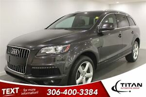 2013 Audi Q7 S-Line Supercharged|Quattro|Nav| Leather|Sunroof