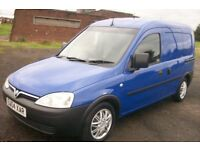 VAUXHALL COMBO VAN 1.7 DIESEL VERY CLEAN CONDITION LONG MOT SIDE LOADER ANY TRIAL WELCOME