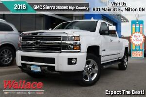 2016 Chevrolet SILVERADO 2500HD HIGH COUNTRY/TOP OF THE LINE!/HD
