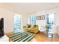 LUXURY 1 BED APARTMENT - AVAILABLE NOW - Indescon Square E14 CANARY WHARF DOCKLANDS SOUTH QUAY CITY