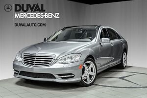 2011 Mercedes-Benz S-Class S550 4MATIC/ AMG PACKAGE * Voiture d'