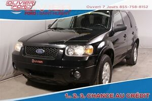 2006 Ford Escape Limited AWD 4X4 CUIR TOIT REMORQUAGES A/C