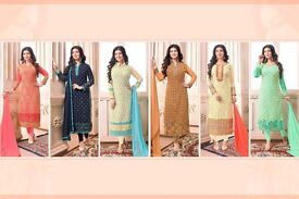 SAND STONE BY RIYAAZ STRAIGHT SUITS WHOLESALE