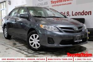 2013 Toyota Corolla SINGLE OWNER CE HEATED SEATS 2 SETS OF TIRES
