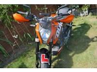 2014 KTM DUKE 125 VERY LOW MILEAGE ABS MOT TAX