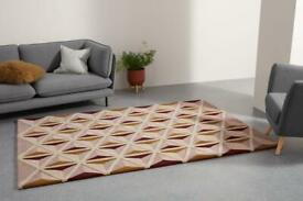 Retro Rug -MADE- great condition!