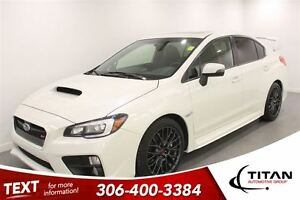 2015 Subaru WRX STi AWD|Leather|Back-up Cam|31801 Kms