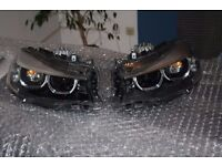 Original Left hand drive Europe type bixenon LCI headlight BMW 3er GT F34 LHD LHD MOT TUV APK ITV