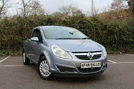 VAUXHALL CORSA 1.0i 12V Life 3dr **2 OWNERS++LOW INSURANCE** (silver) 2009