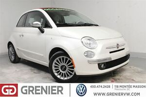 2013 Fiat 500C LOUNGE+CONVERTIBLE+CUIR