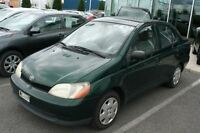 2002 Toyota Echo SEDAN AUTOMATIQUE **175 369KM**
