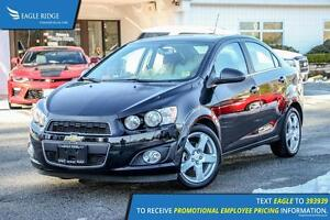 2016 Chevrolet Sonic LT Auto Sunroof, Heated Seats, and Satel...